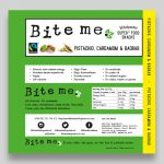 Bite Me Pistachio Label