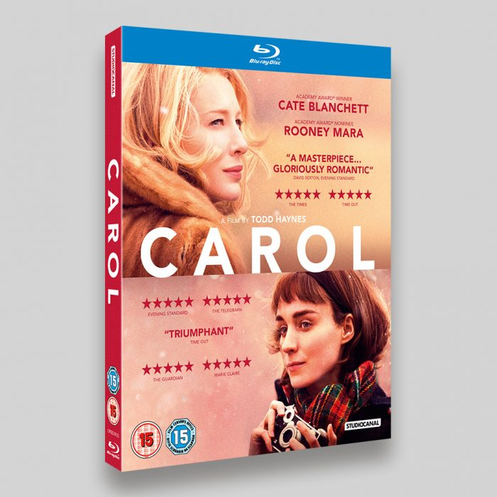 Carol Blu-ray O-ring Packaging