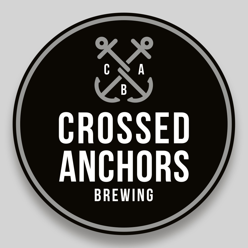 Crossed Anchors Brewing Logo