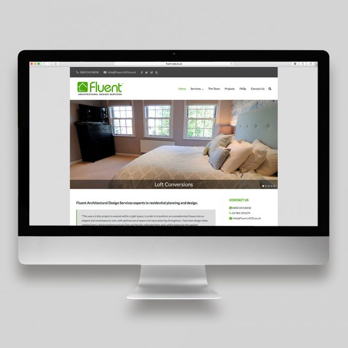 FluentADS Website Home