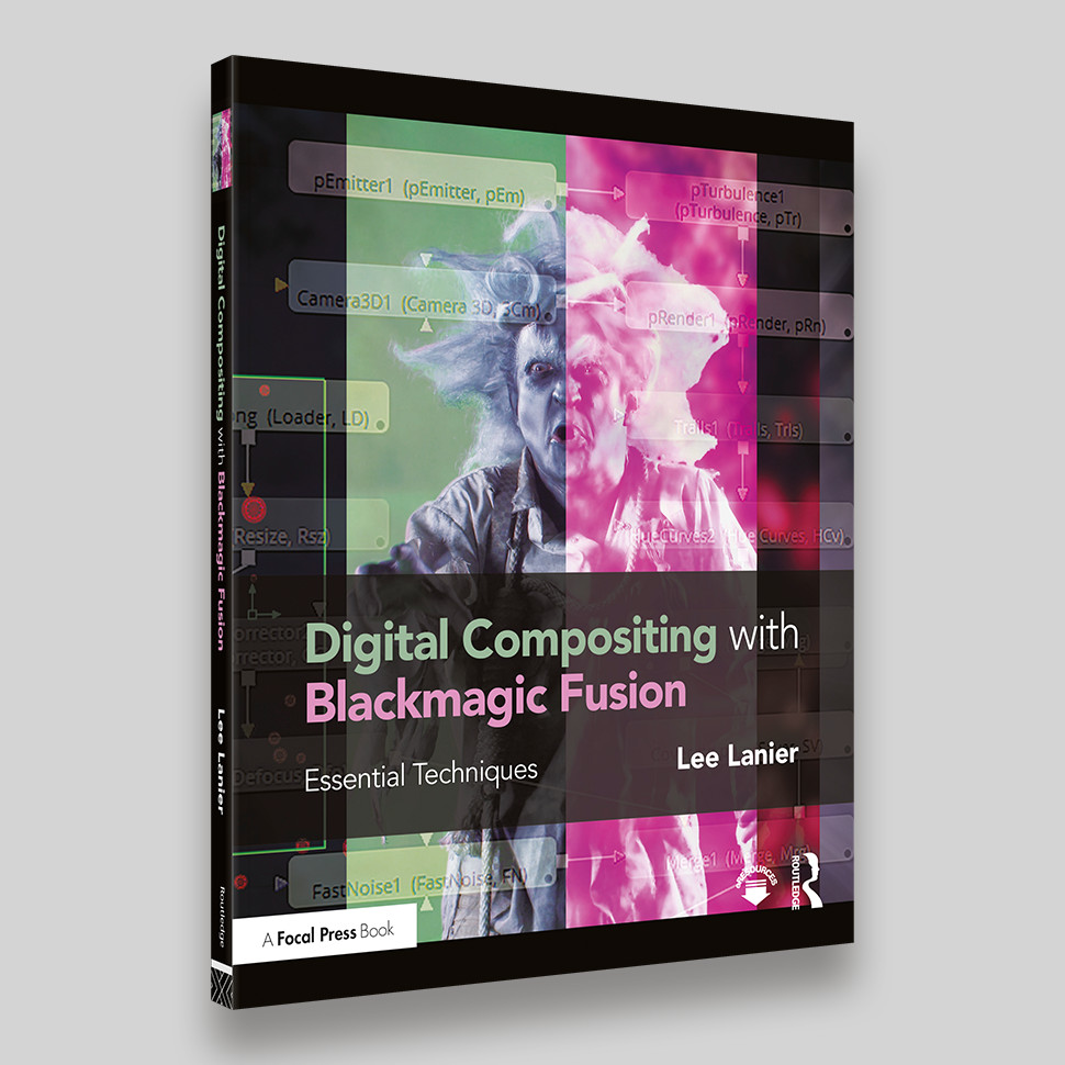 Digital Composition with BlackMagic Fusion – David Fulton