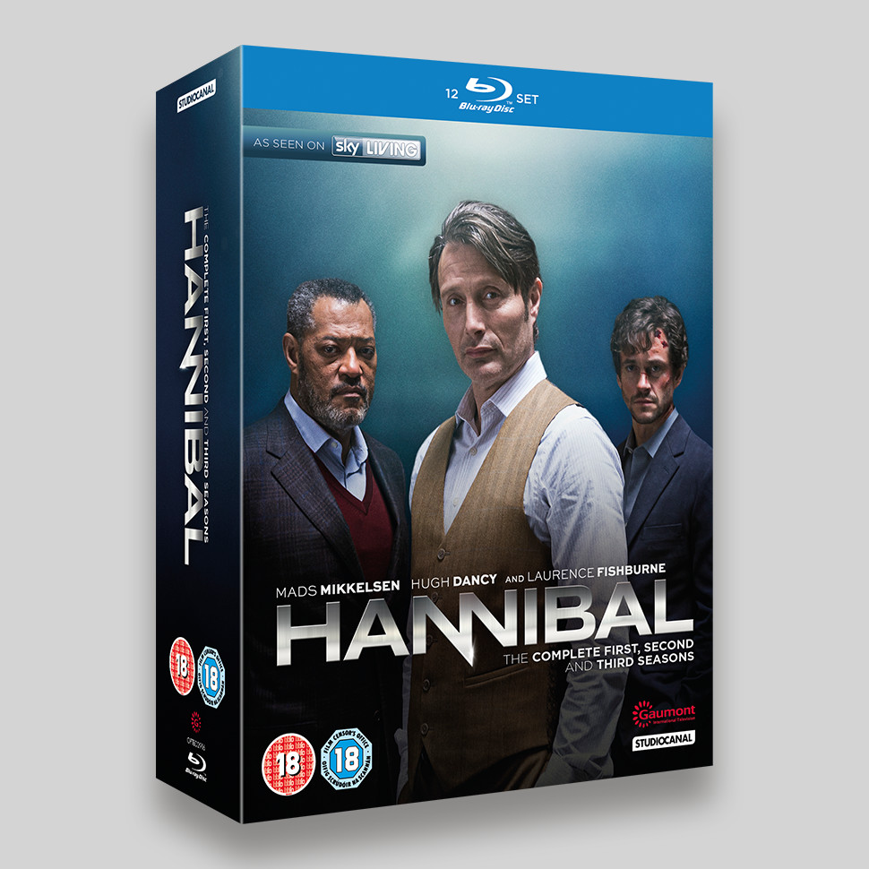 Hannibal Season 1-3 Boxset Blu-ray Slipcase
