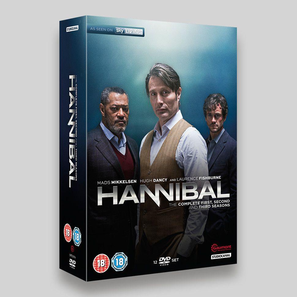 Hannibal Season 1-3 Boxset DVD Slipcase