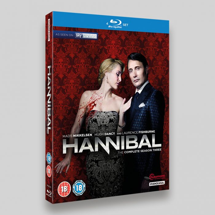 Hannibal Season 3 Blu-ray Slipcase Packaging
