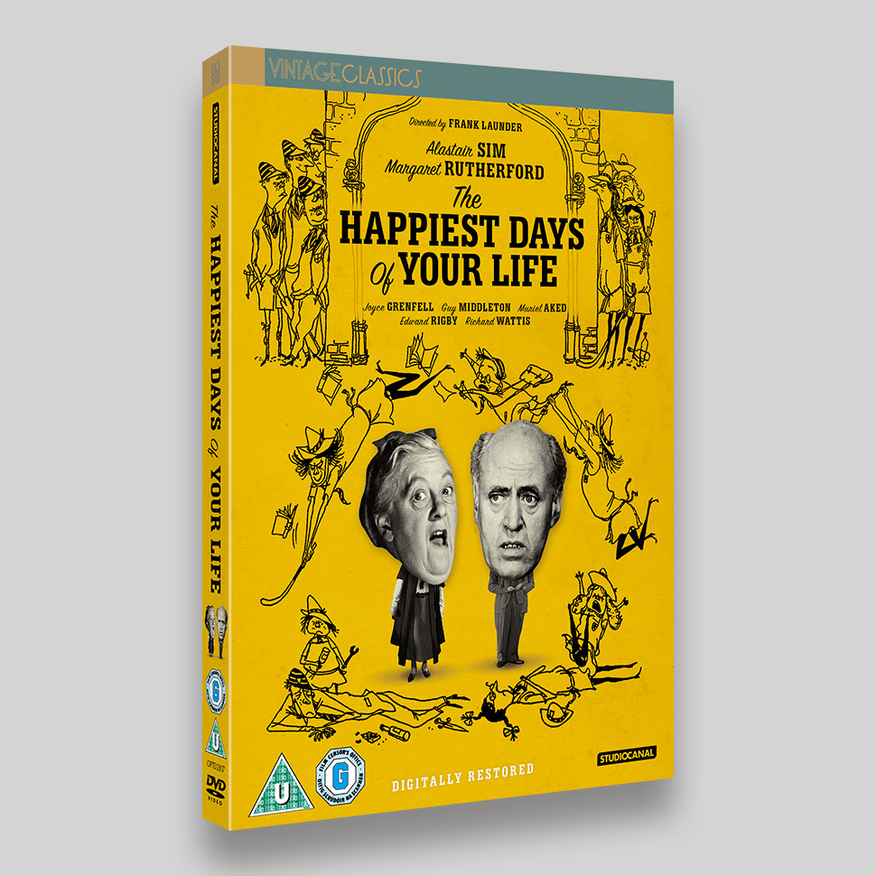 The Happiest Days Of Your Life DVD O-ring