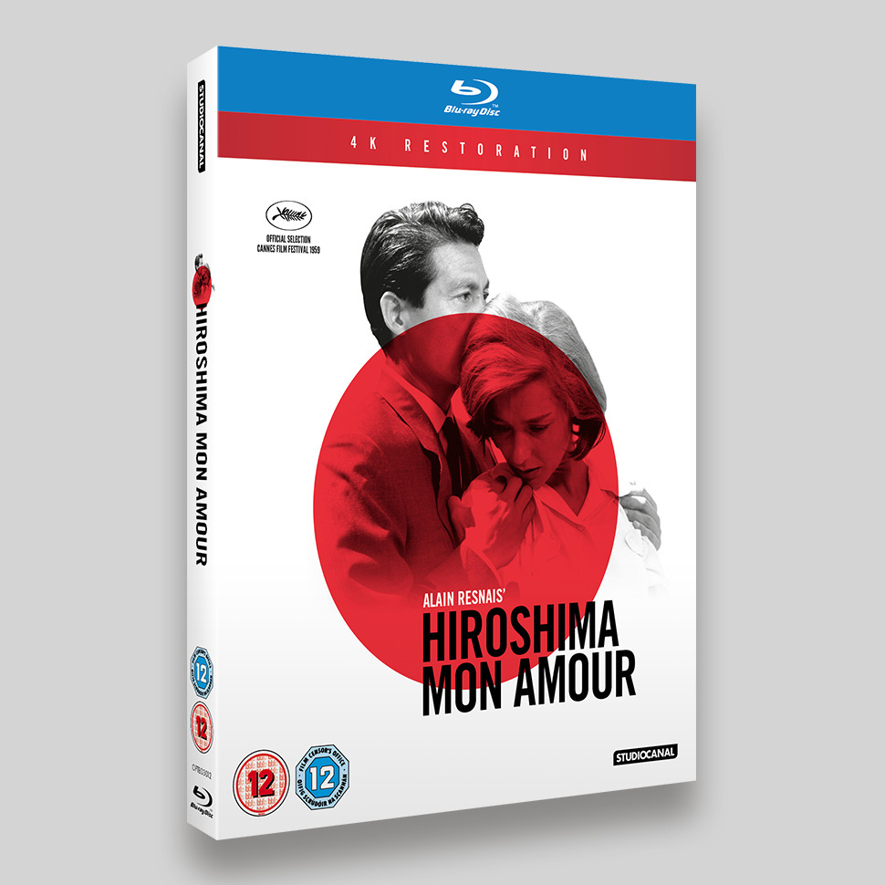 Hiroshima Mon Amour Blu-ray O-ring Packaging