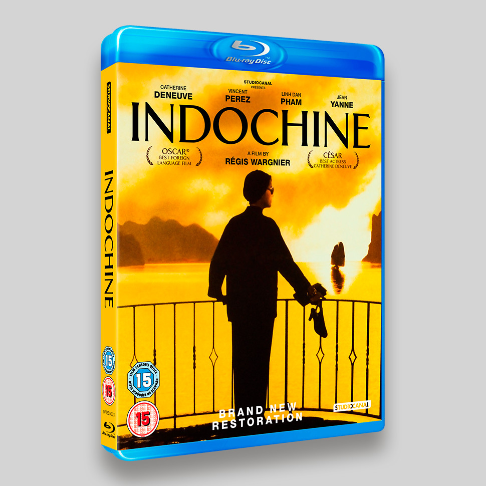 Indochine Blu-ray Packaging