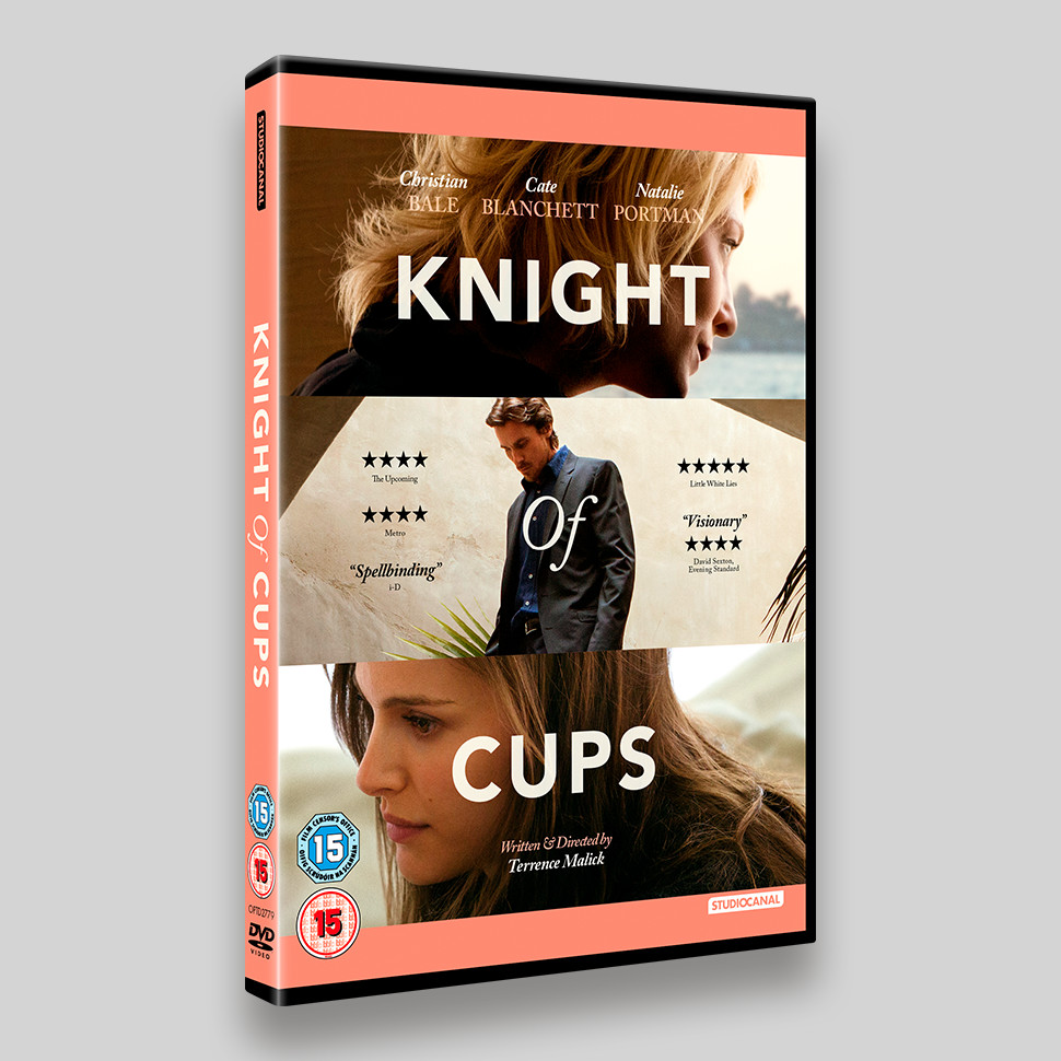 Knight Of Cups DVD Packaging