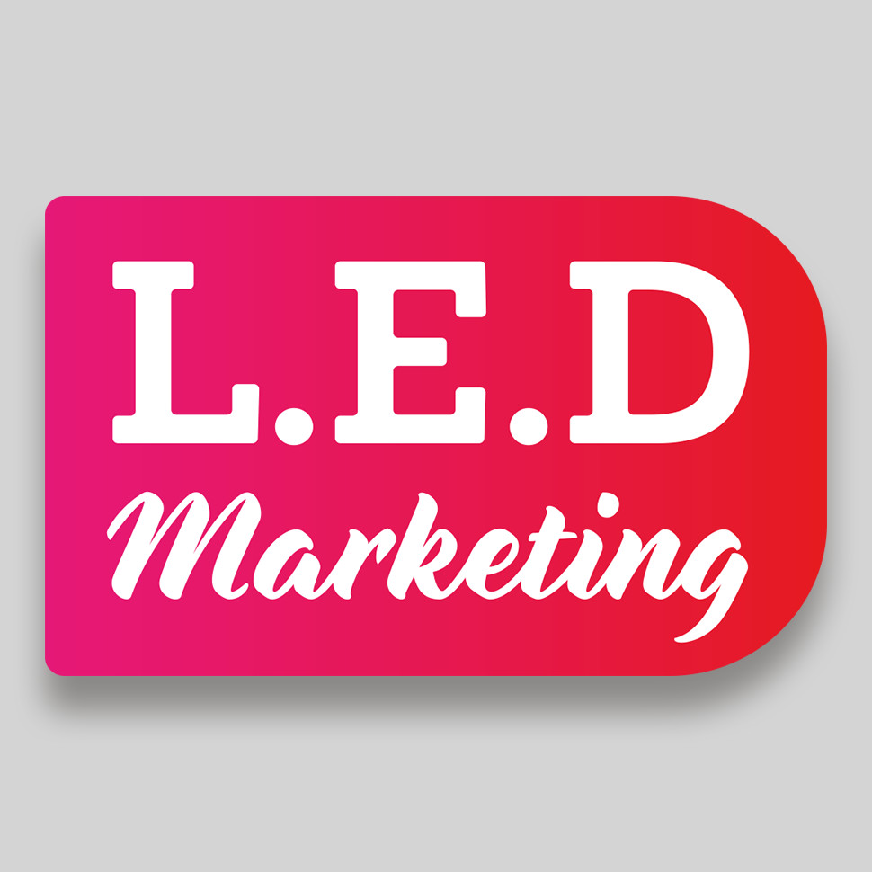 LED Marketing Logo Design