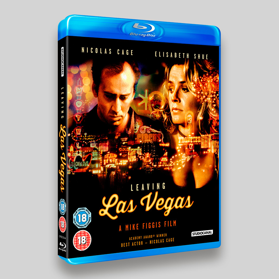 Leaving Las Vegas Blu-ray Packaging