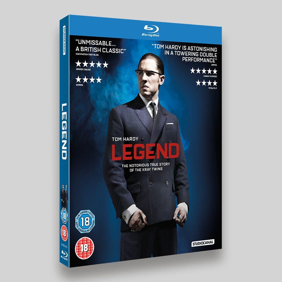 Legend Blu-ray Lenticular O-ring Packaging Ronnie