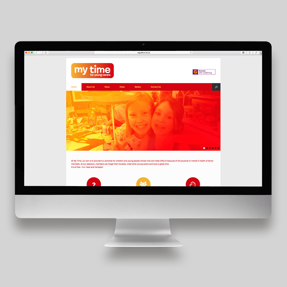 My Time For Young Carers Website Home