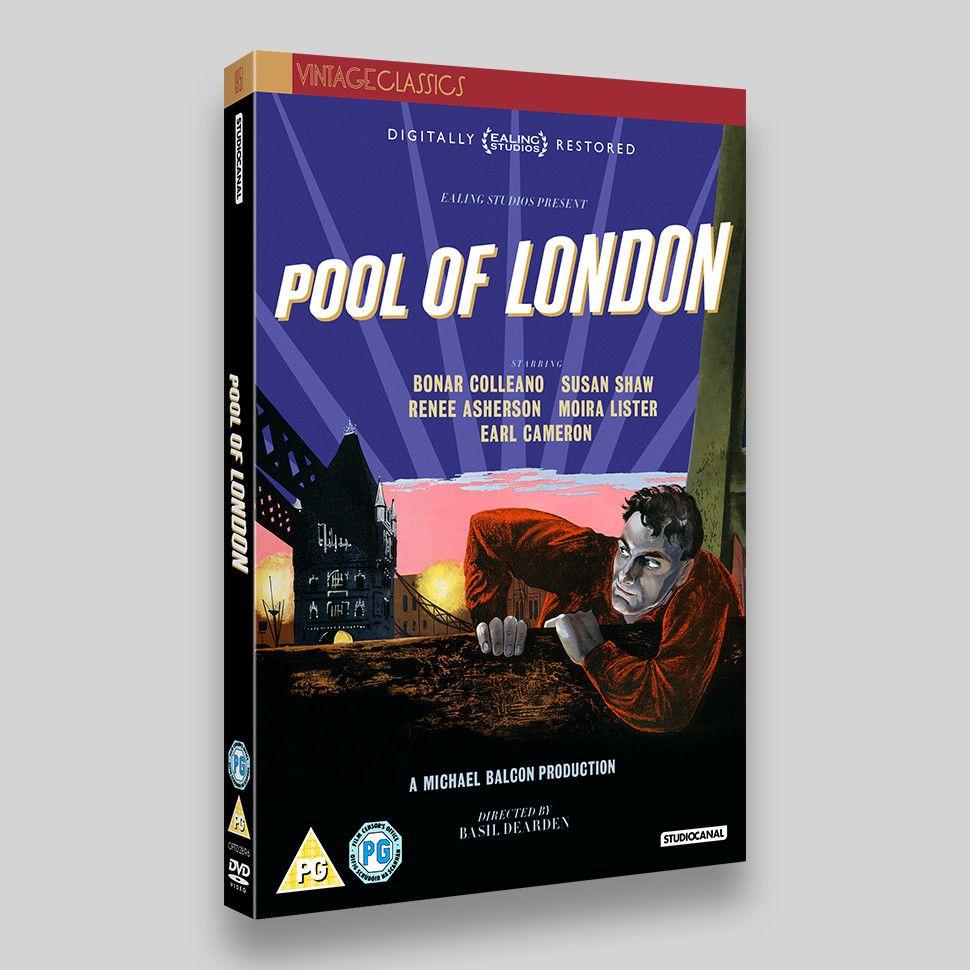 Pool Of London DVD Packaging