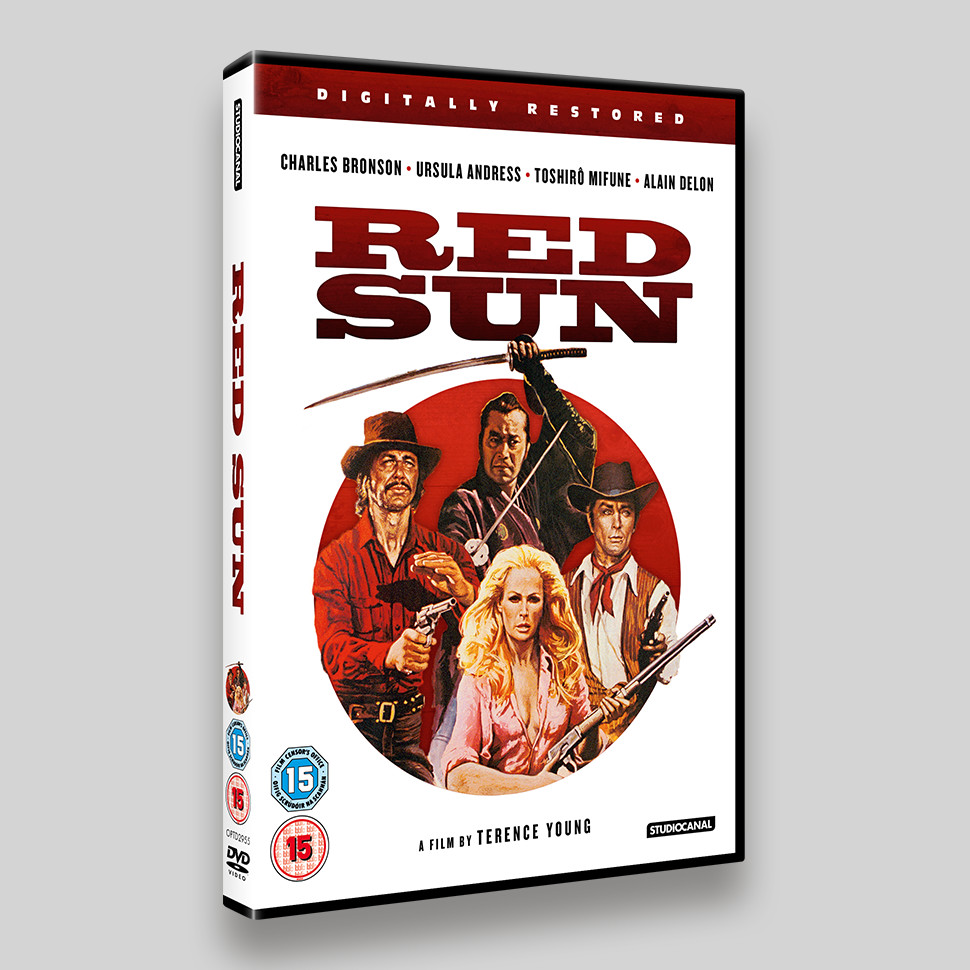 Red Sun DVD Packaging