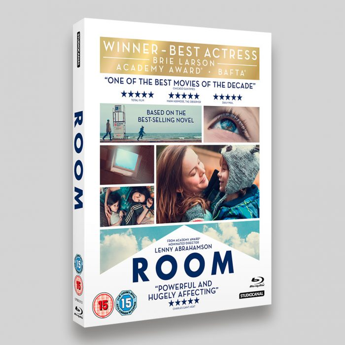 Room Blu-ray O-ring Packaging