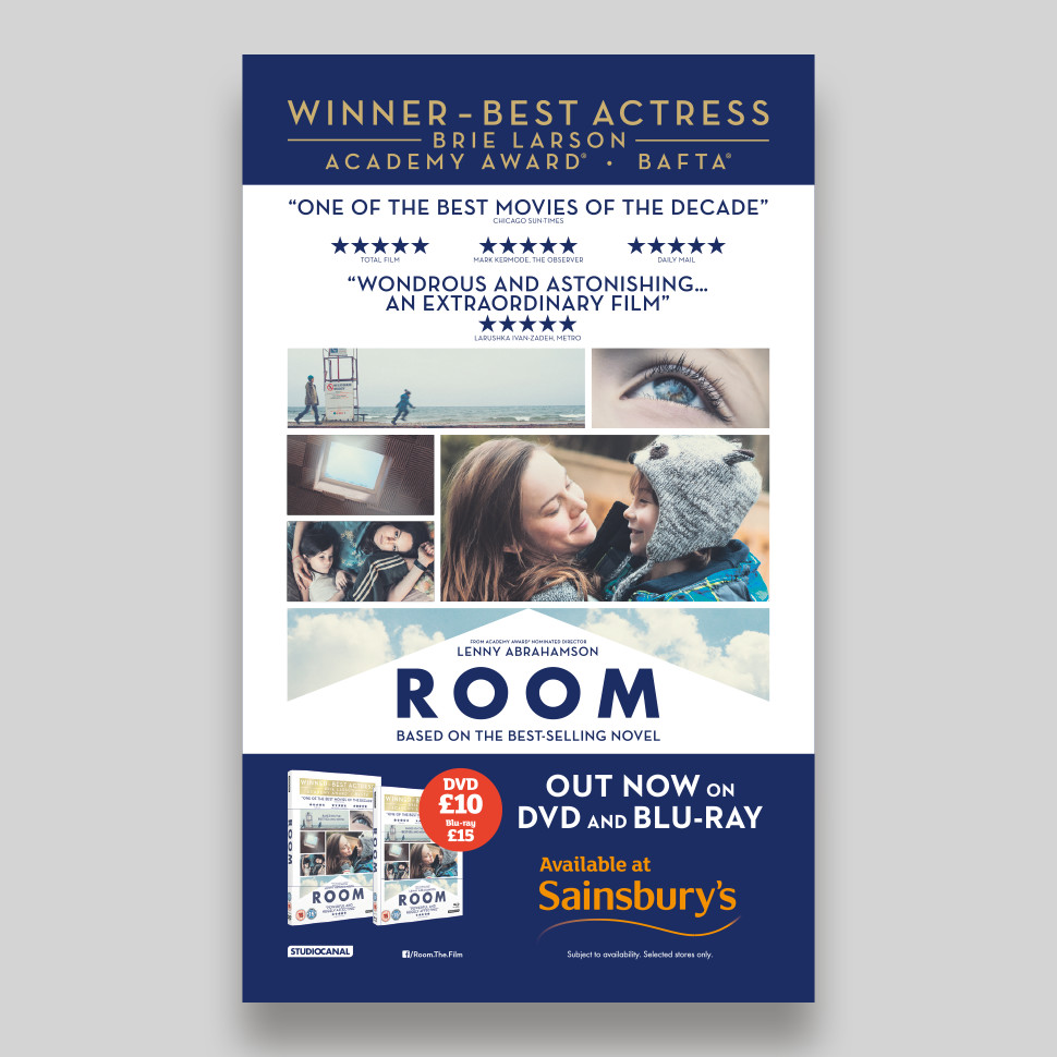 Room Press Advert