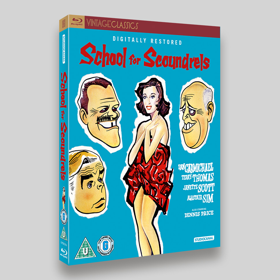 School For Scoundrels Blu-ray Packaging