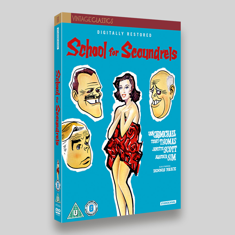 School For Scoundrels DVD Packaging