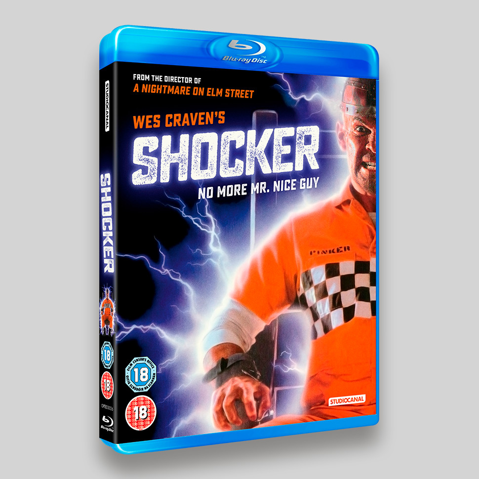 Shocker Blu-ray Packaging