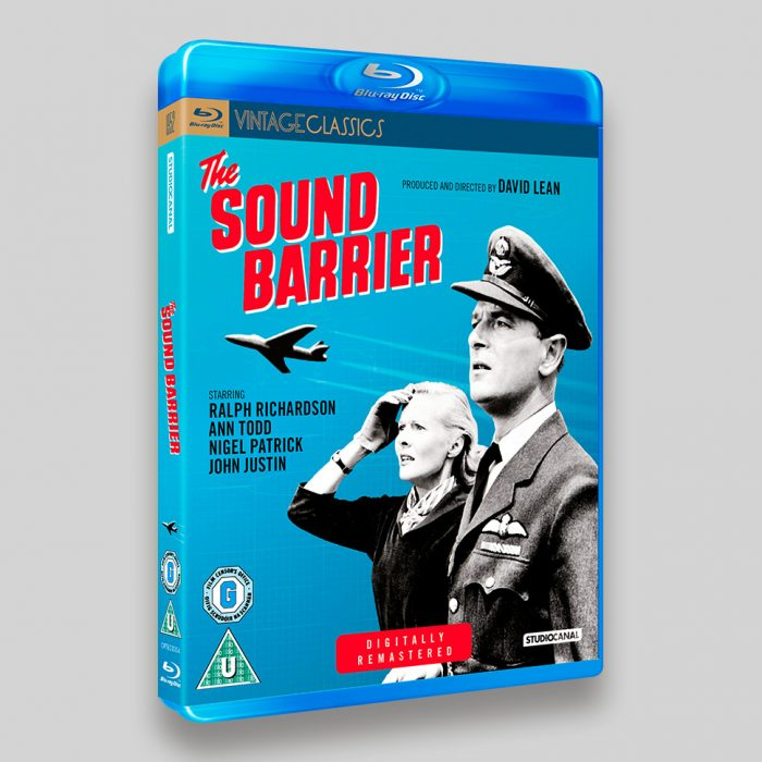 The Sound Barrier Blu-ray packaging