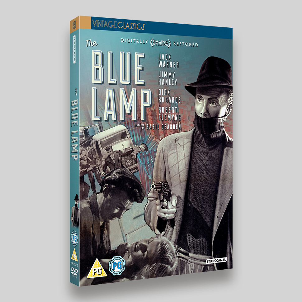 The Blue Lamp DVD Packaging
