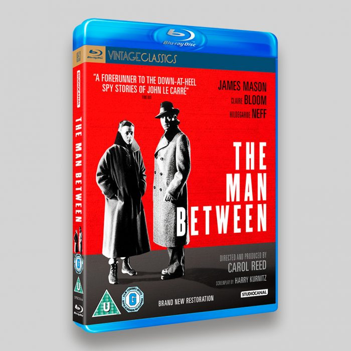 The Man Between Blu-ray Packaging