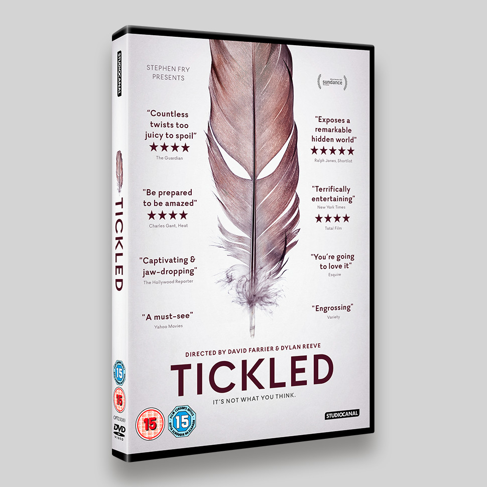 Tickled DVD Packaging