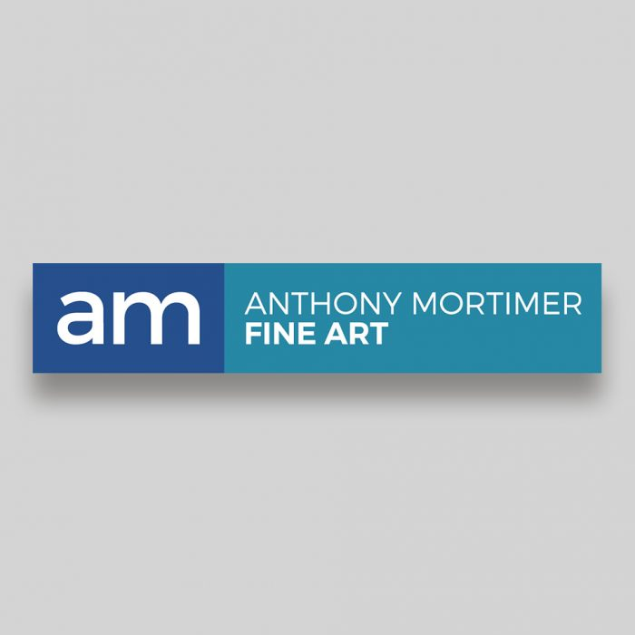Anthony Mortimer Rectangular Logo Design