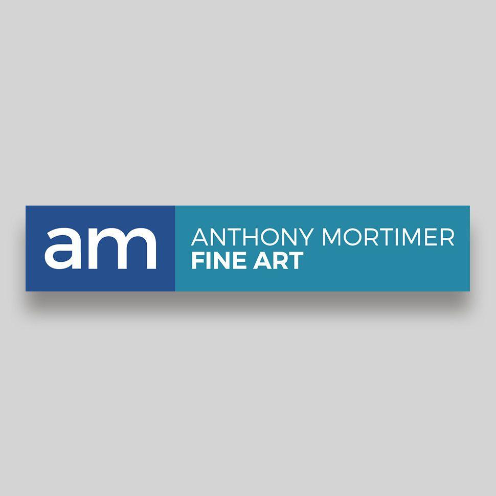 Anthony Mortimer Rectangular Logo Design