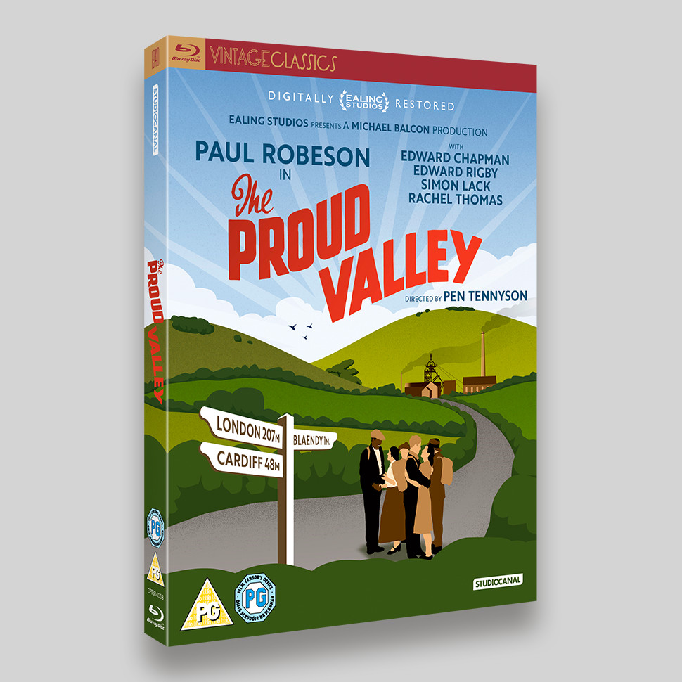 The Proud Valley Blu-ray Oring Packaging