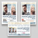 Manchester By The Sea assorted Press Adverts