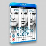 Before I Go To Sleep Blu-ray Sleeve