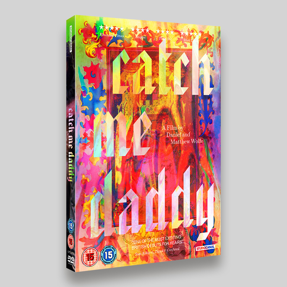 Catch Me Daddy DVD O-ring Packaging
