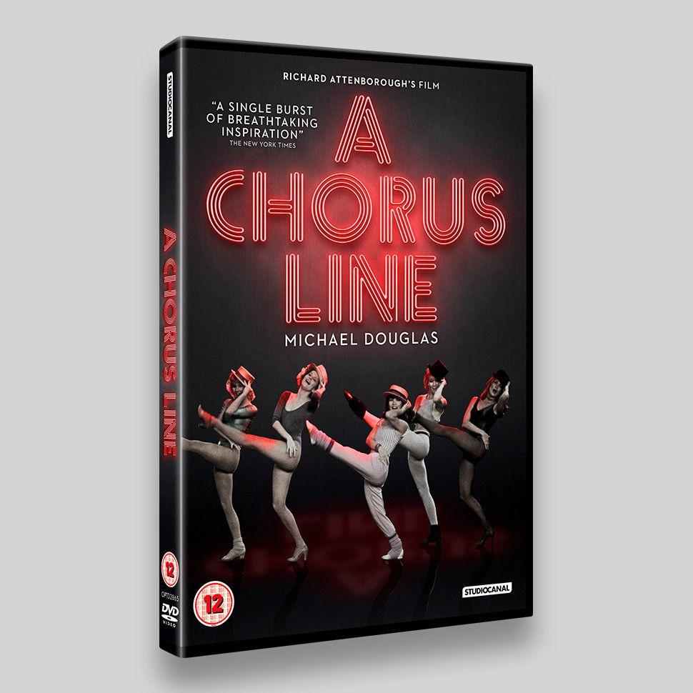 A Chorus Line DVD Sleeve