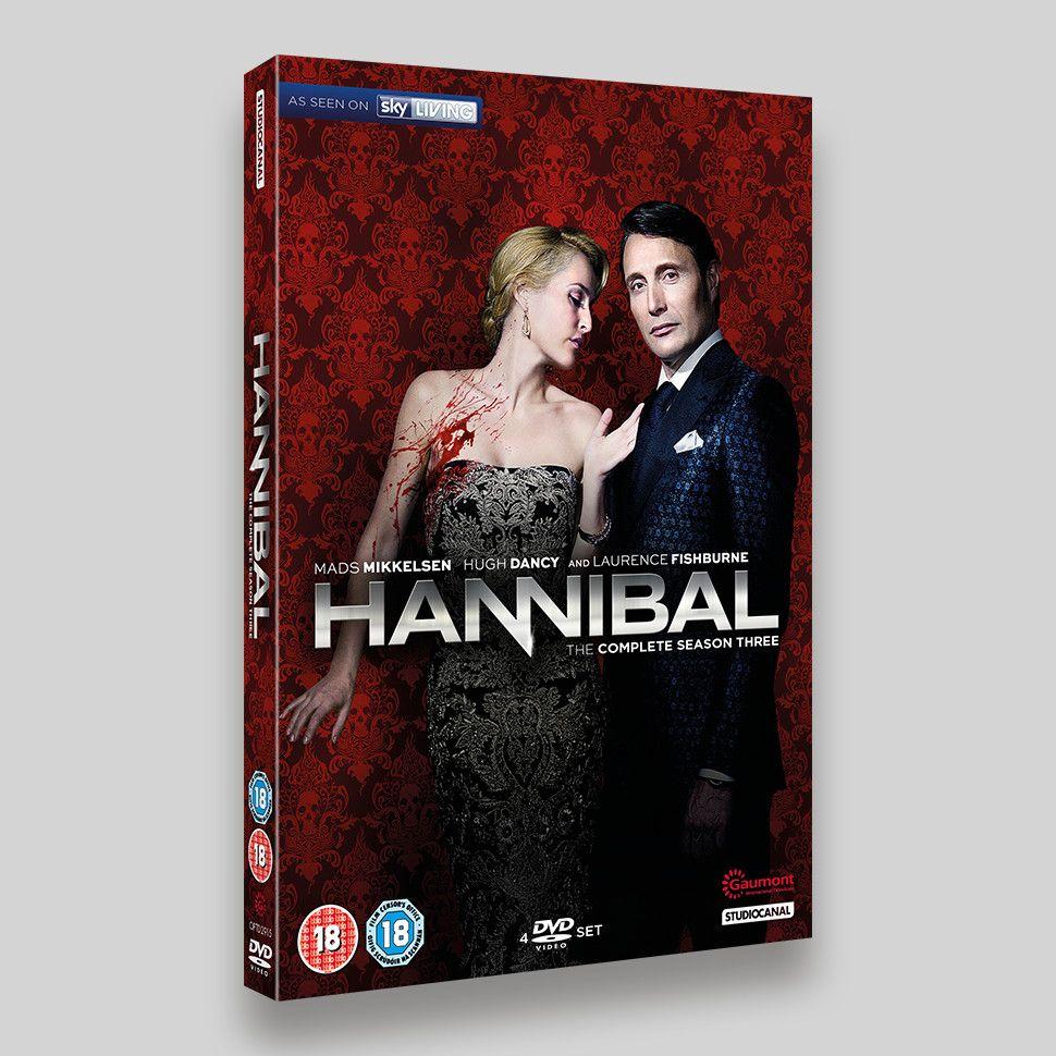 Hannibal Season 3 DVD Slipcase Packaging