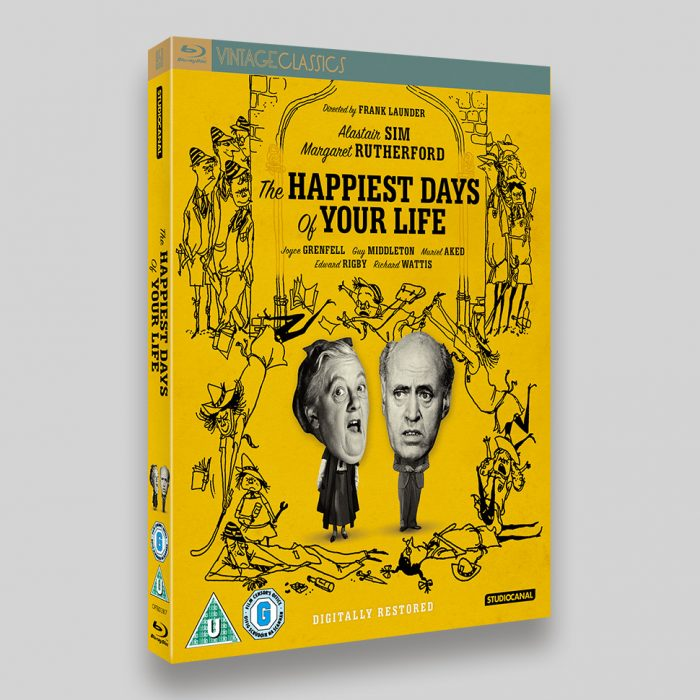The Happiest Days Of Your Life Blu-ray O-ring