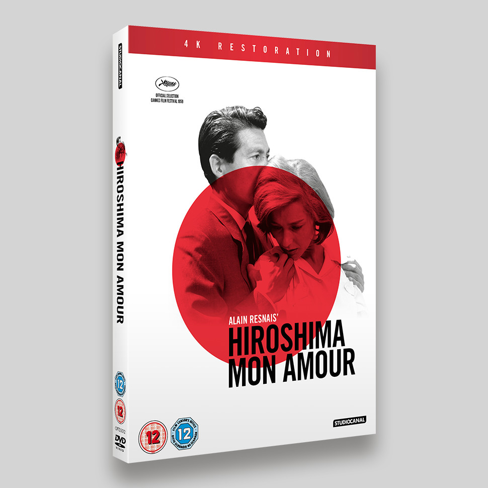 Hiroshima Mon Amour DVD O-ring Packaging