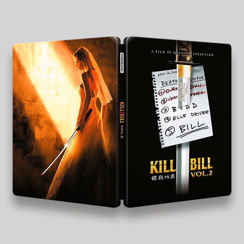 Kill Bill Vol. 2 Blu-ray Steelbook