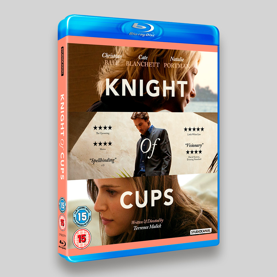 Knight Of Cups Blu-ray Packaging