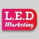 LED Marketing Logo Design