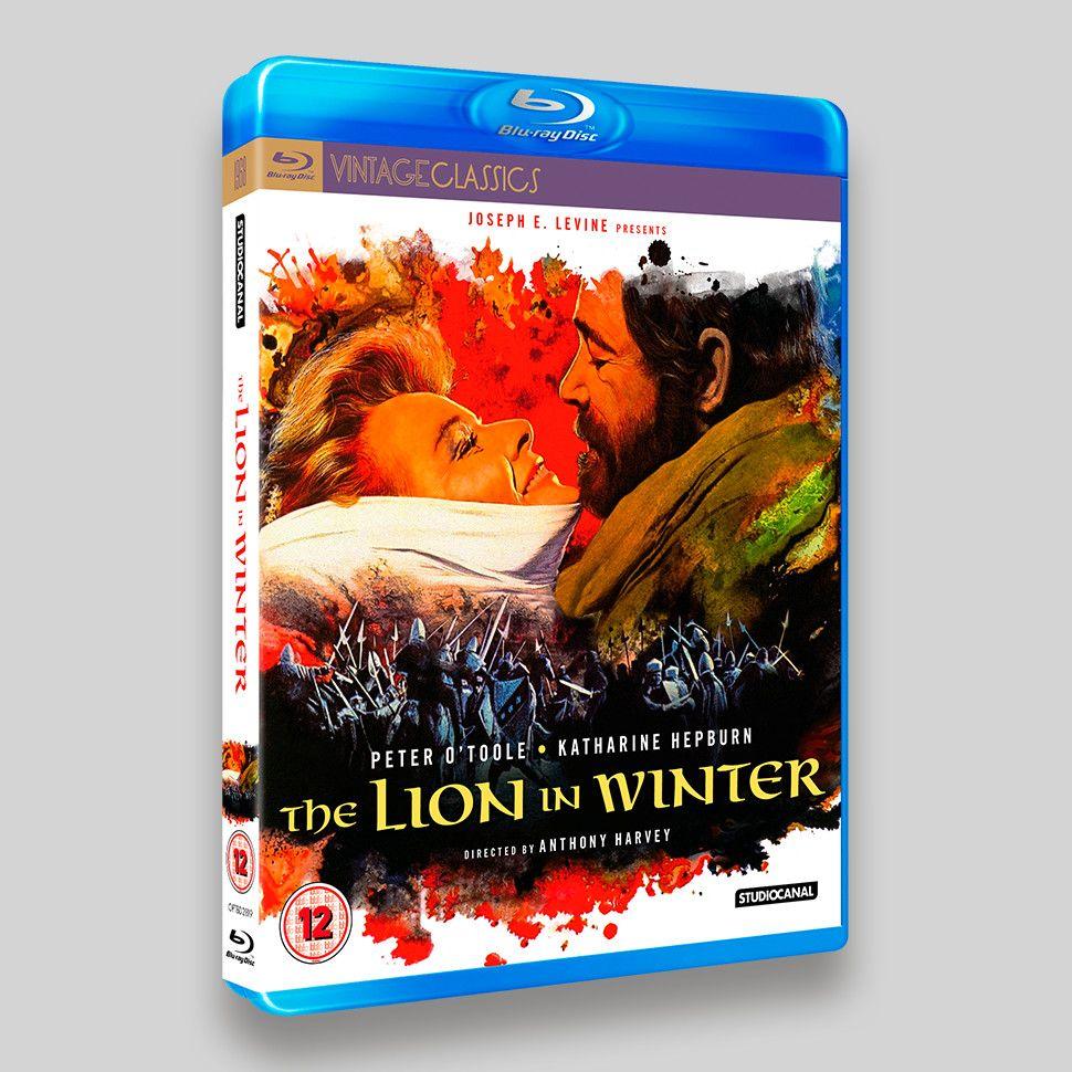 Lion In Winter Blu-ray Packaging