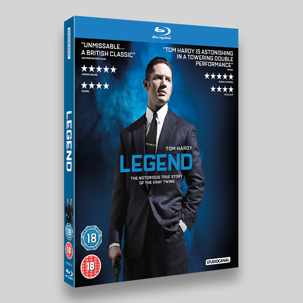 Legend Blu-ray Lenticular O-ring Packaging Reggie