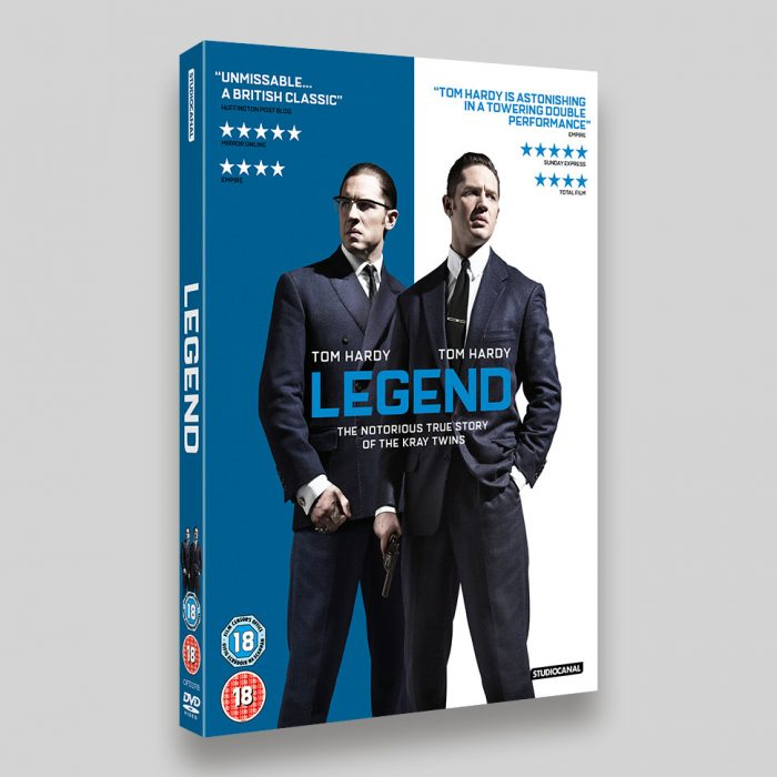 Legend DVD O-ring Packaging