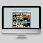 Mad About Food Website Gallery