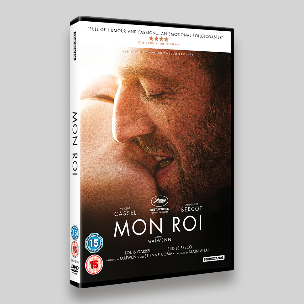 Mon Roi DVD Packaging
