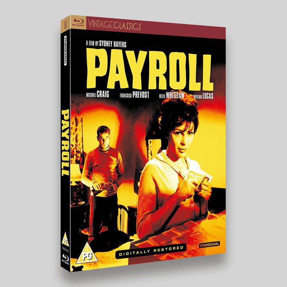 Payroll Blu-ray Packaging