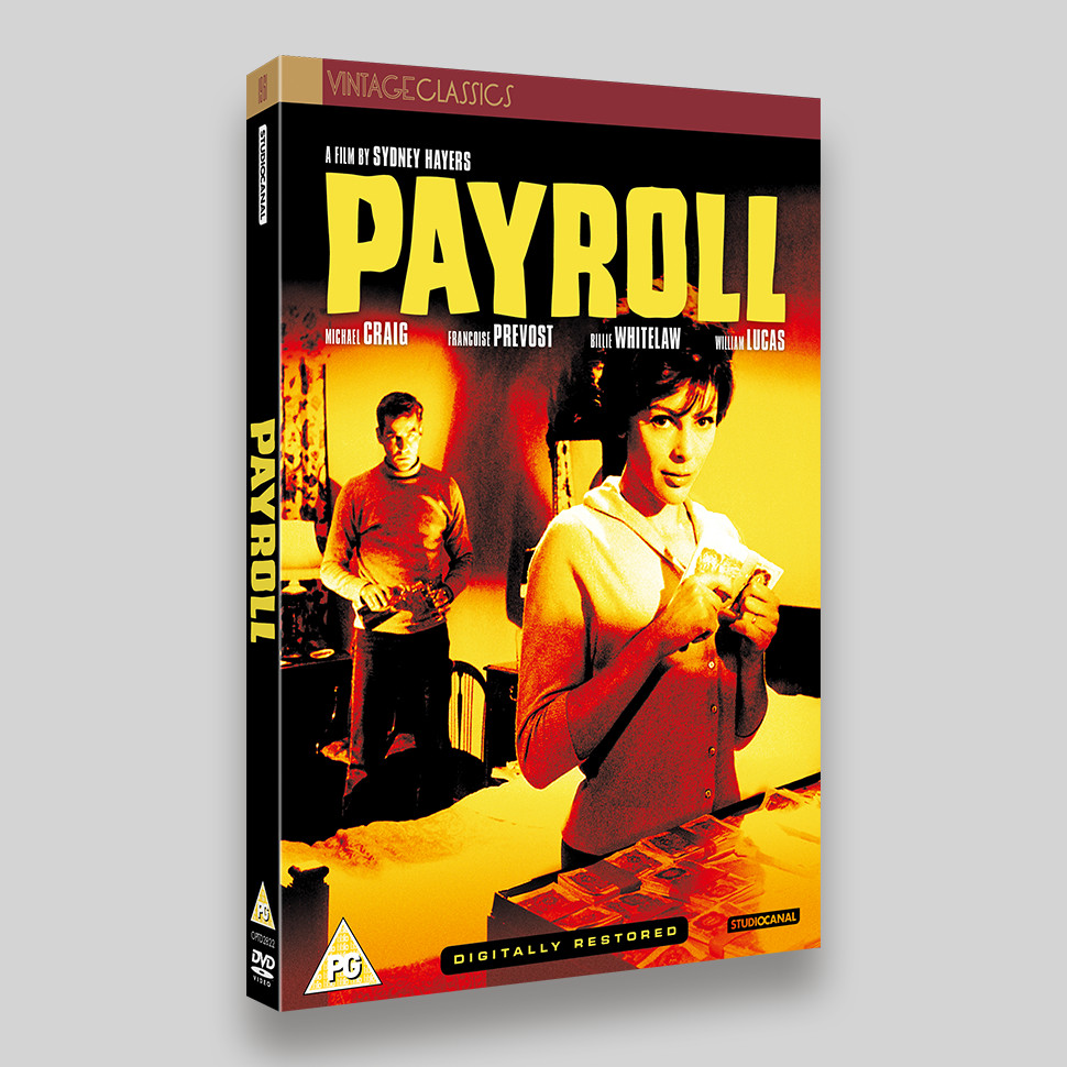 Payroll DVD Packaging
