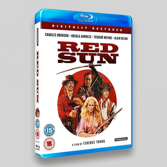 Red Sun Blu-ray Packaging
