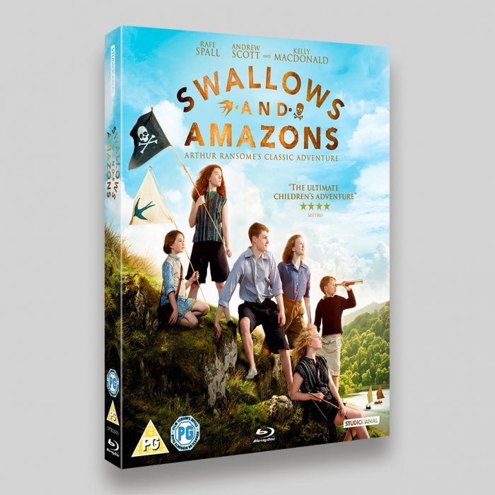 Swallows and Amazons Blu-ray Oring