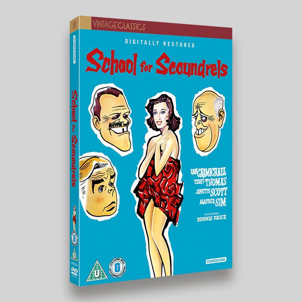 School For Scoundrels DVD Packaging